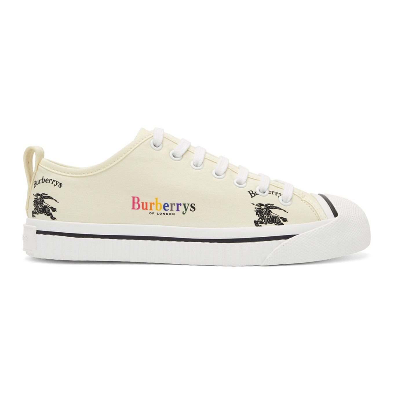 Off White Kingly Sneakers by Burberry