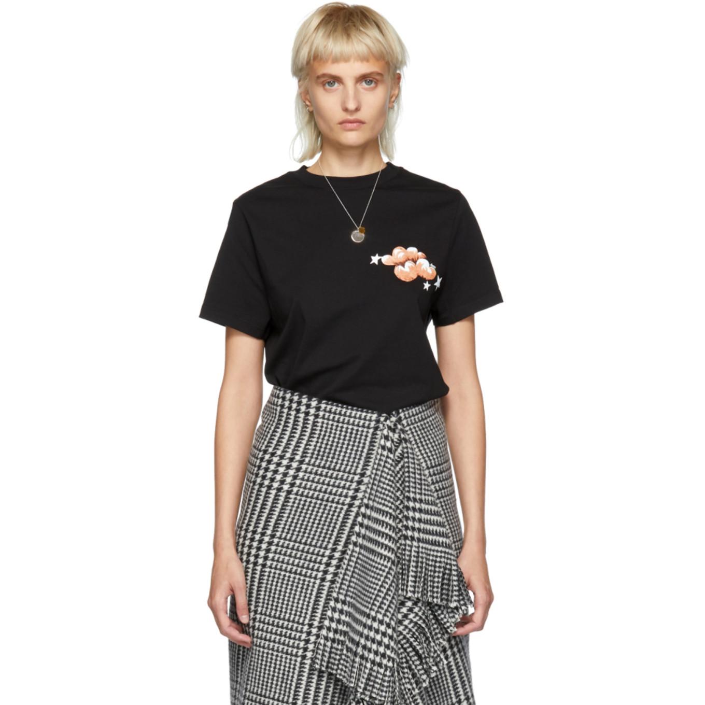 Black Clouds & Stars T Shirt by Loewe