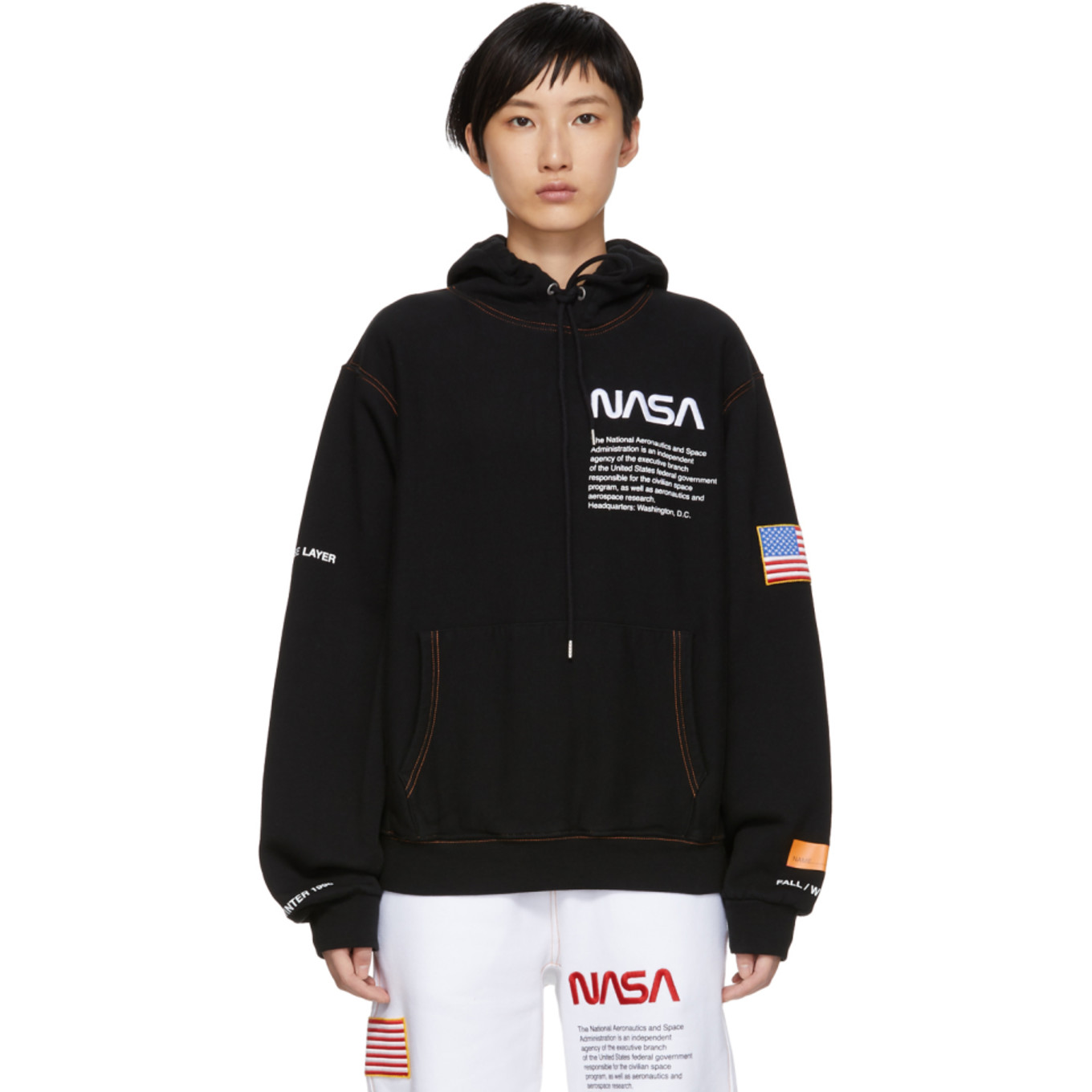 395b41b8369 ssense-exclusive-black-fleece-hoodie by heron-preston