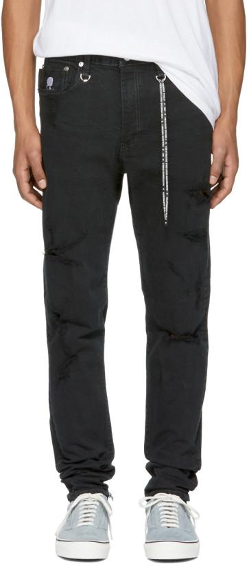 mastermind WORLD Black 07 Jeans