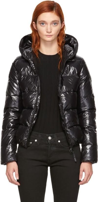 Duvetica Women's Black Down Thia Jacket