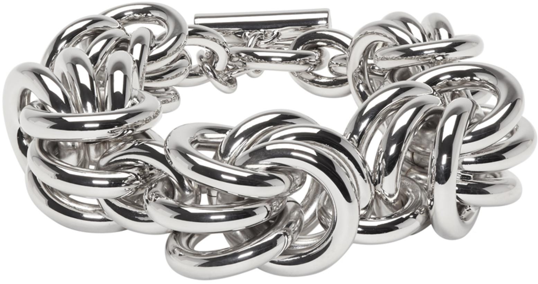 Alexander Wang Silver Knot Bracelet