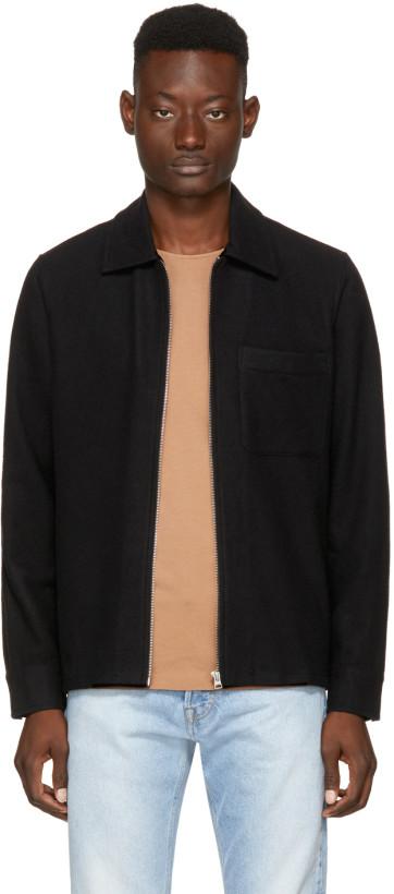 Our Legacy Black Drip Shirt