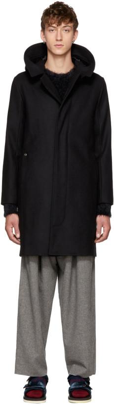 Bless Black Hood Coat