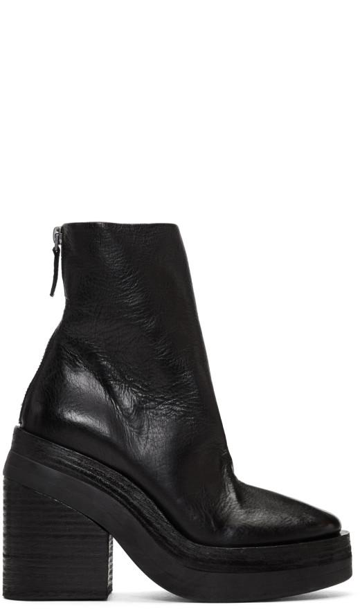 Marsèll - Black Stisicona Platform Boots