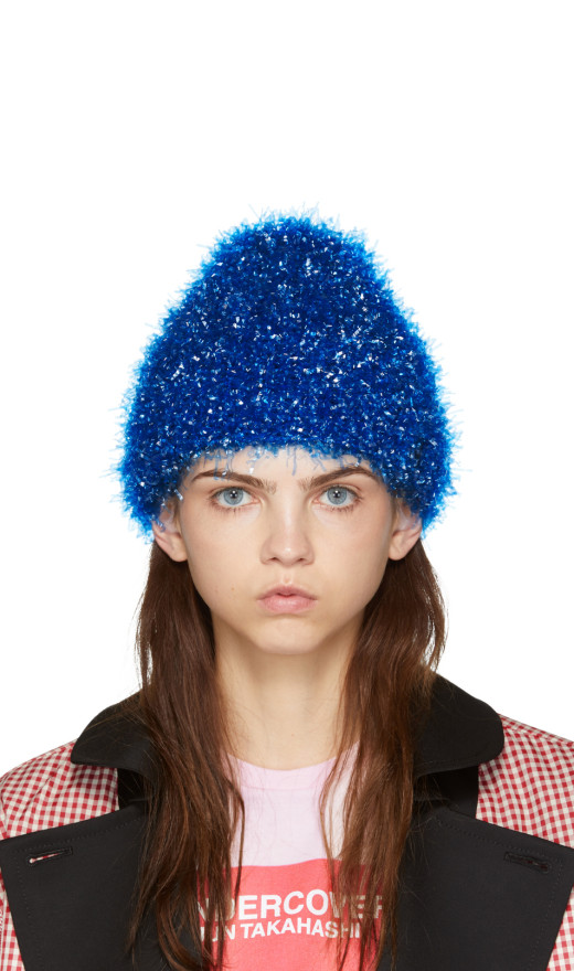 Undercover - Bue Glossy Film Beanie
