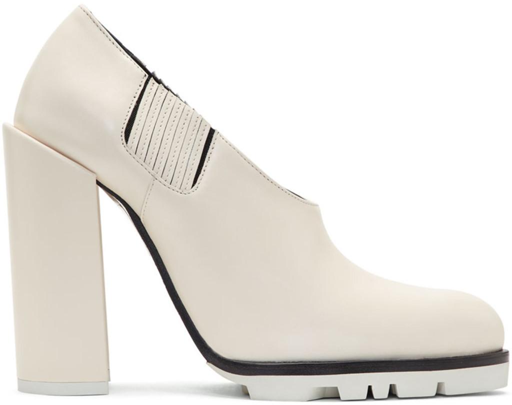 Marsèll Off-White Sandy Sport Heels