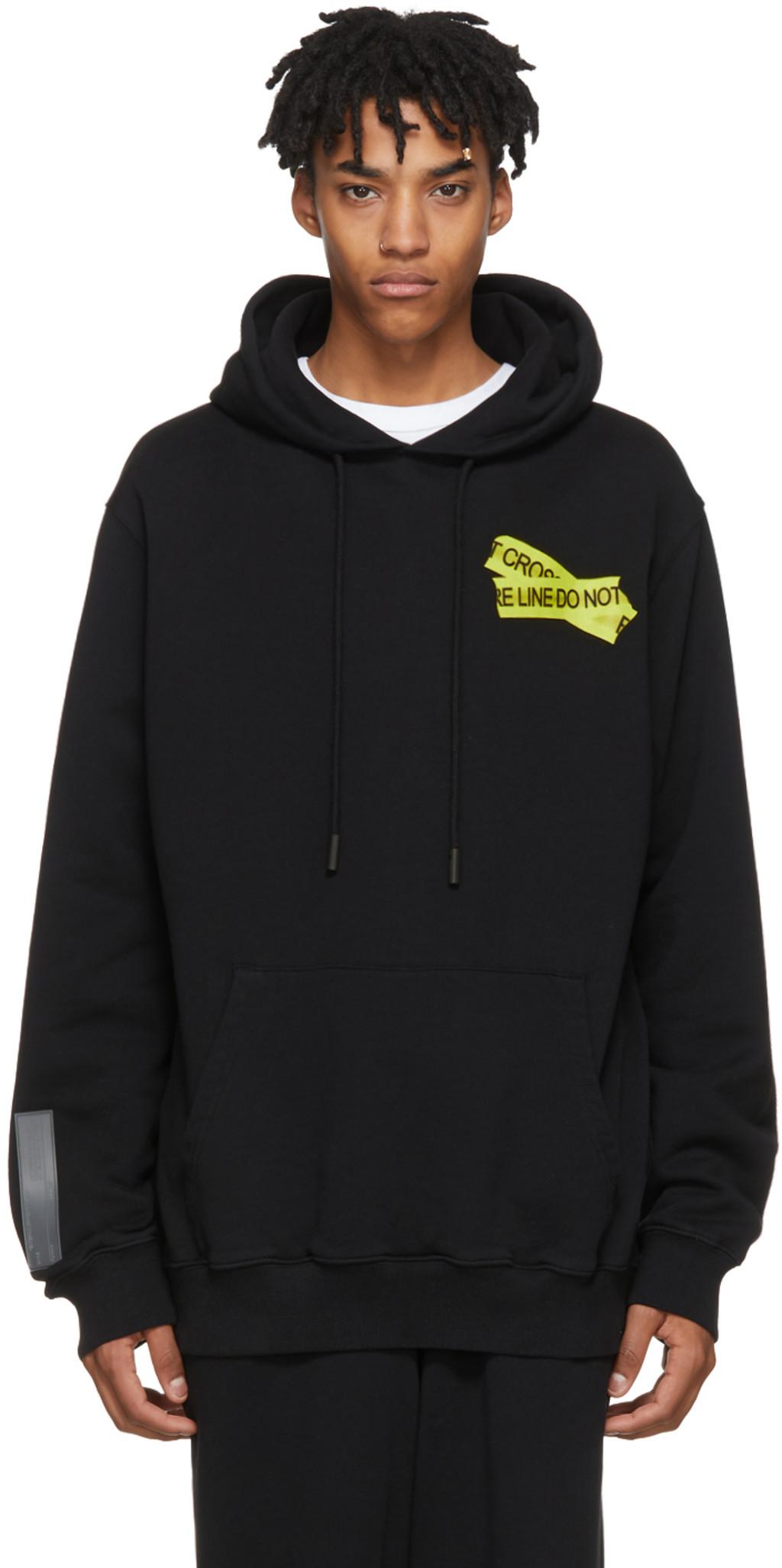 Black 3D Marker sweatshirt Off-white Big Sale Cheap Price Ip2BTUVHe