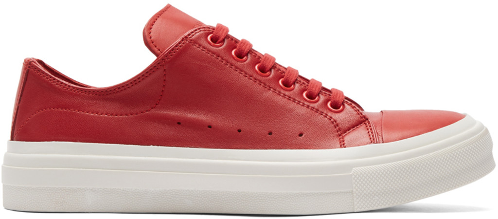 N.Hoolywood Red Oversized Sneakers