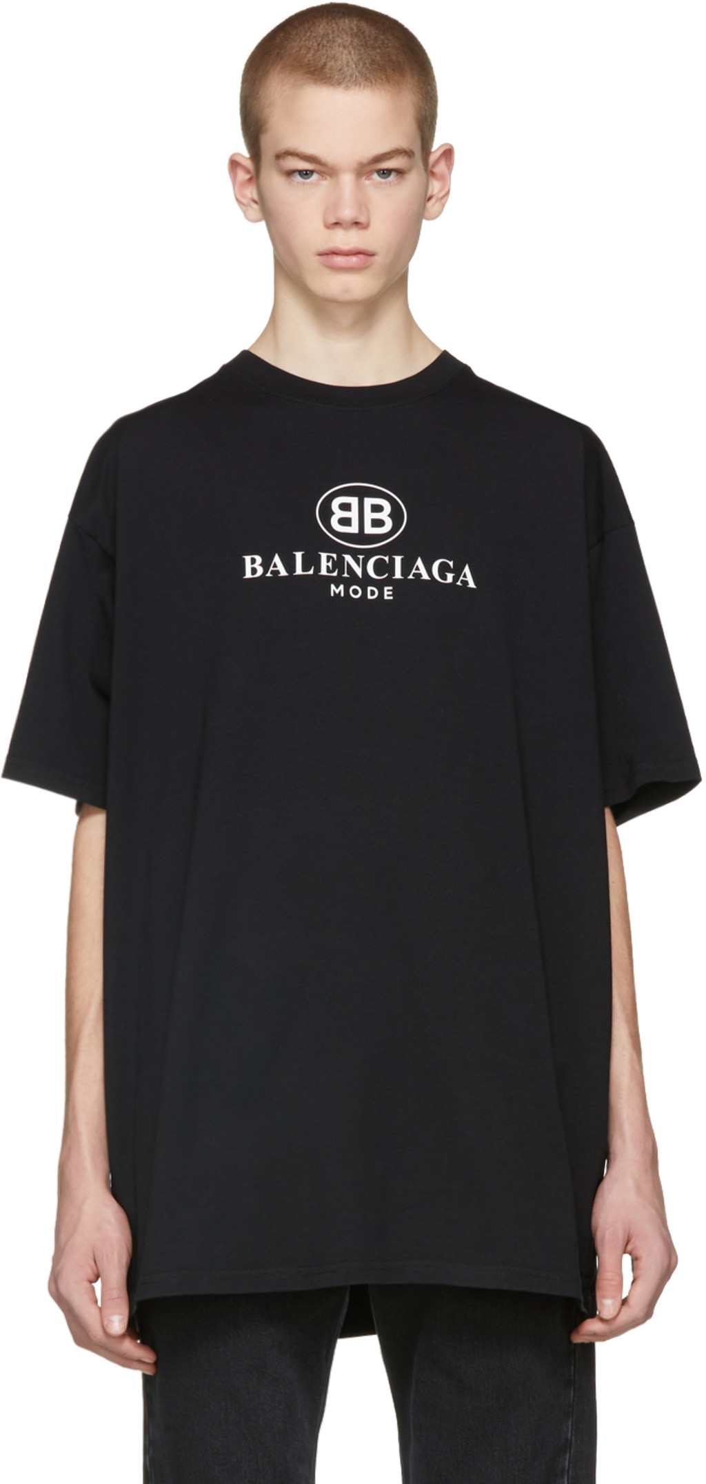 balenciaga t shirt mens black