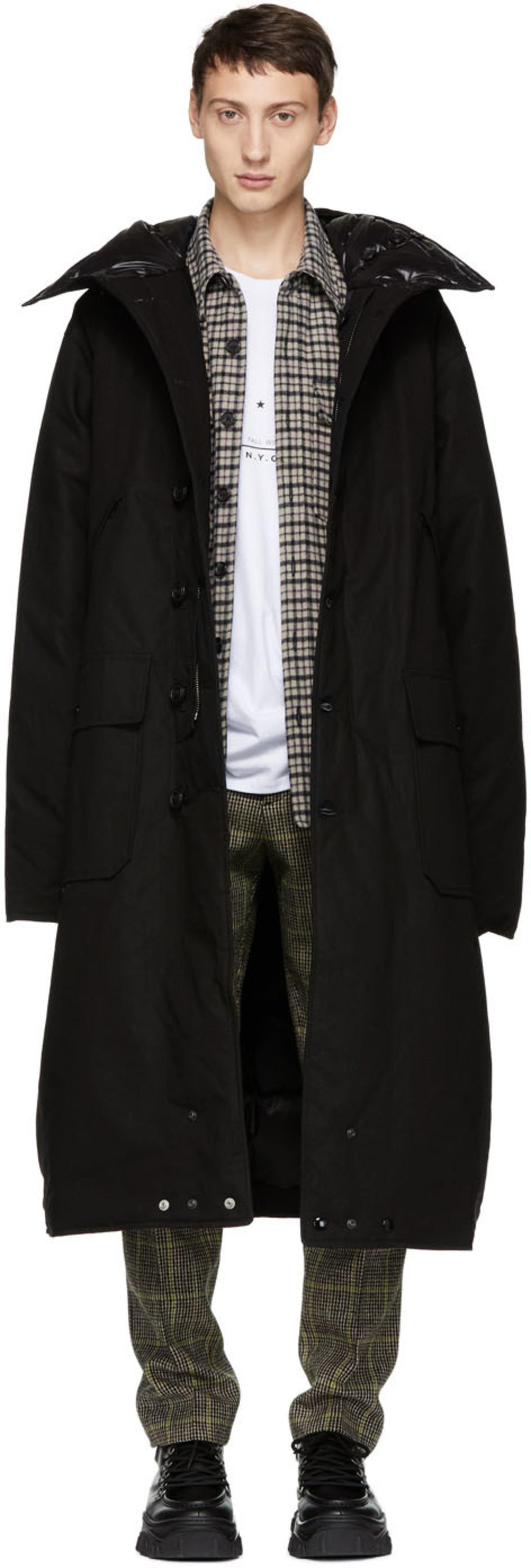 R13 For Men Fw18 Collection Ssense Coat Dan Long Blazer Kate