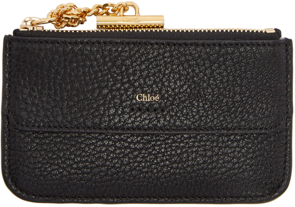 chlo wallets card holders for women ssense - Chloe Card Holder
