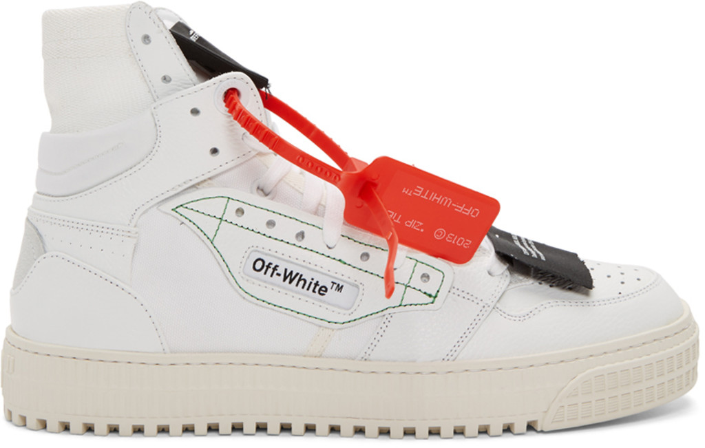 Off White Shoes For Men Ssense