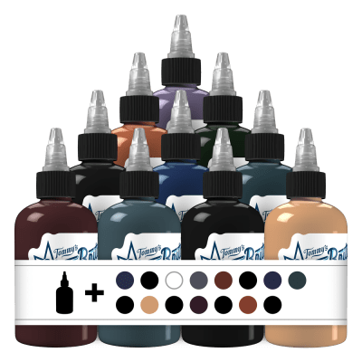 25 Essential Set 1 Tattoo Ink