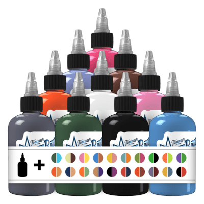 50 Fabulous Colors Set 2 Tattoo Ink