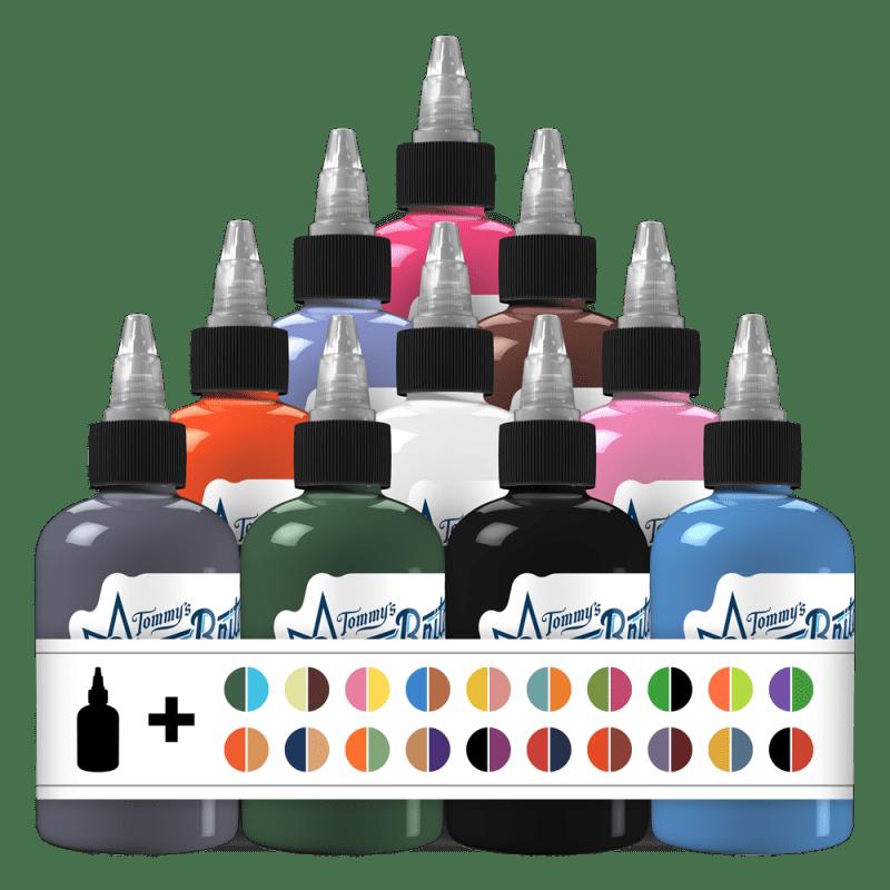 50 Fabulous Colors Set 2 Tattoo Ink