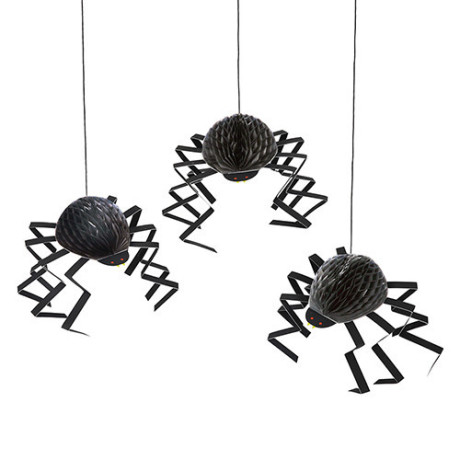 meri meri halloween spider decorations - Spider Decorations