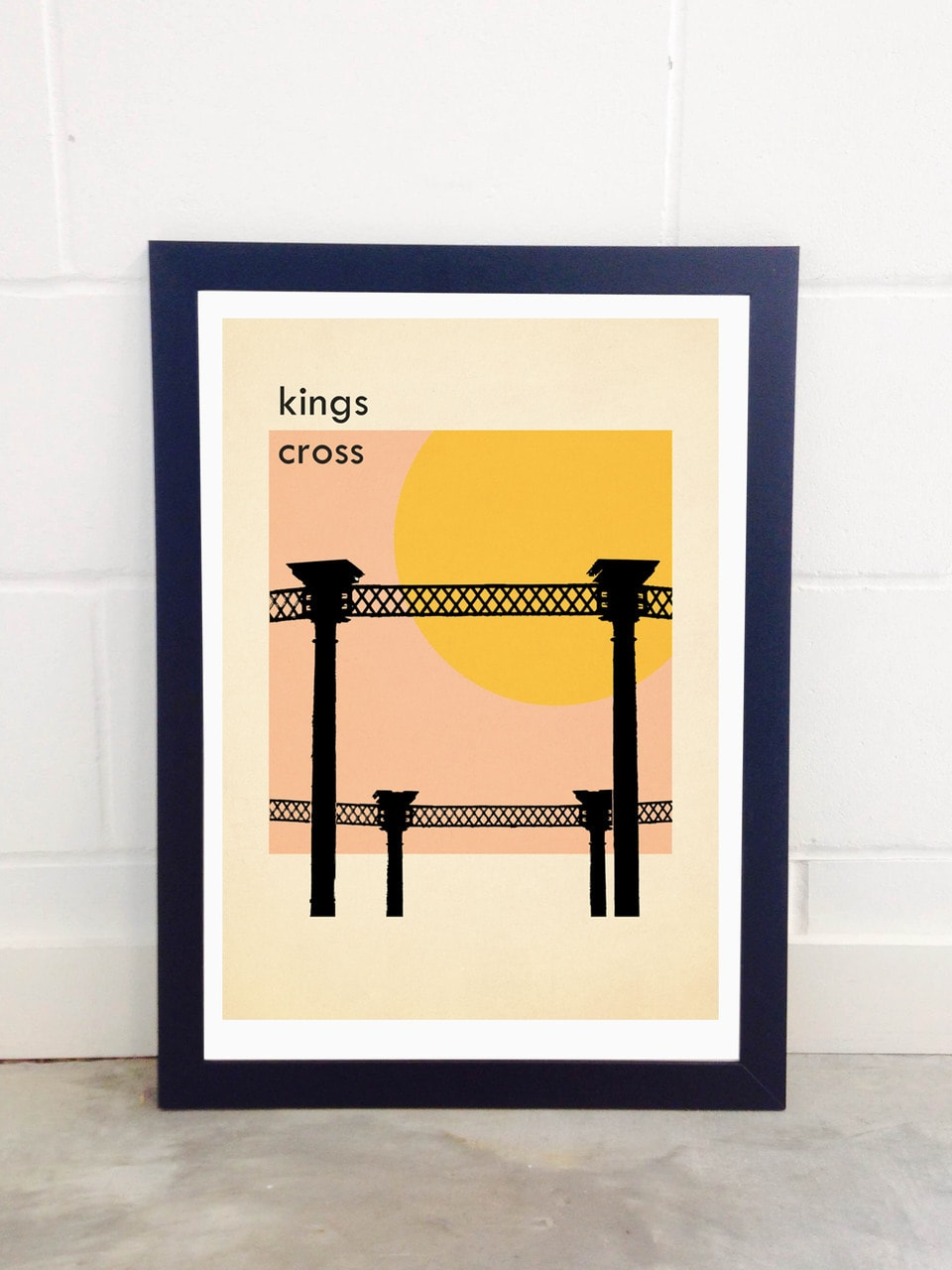 East End Prints Kings Cross Gasworks A2 Unframed Print a321231bf4a