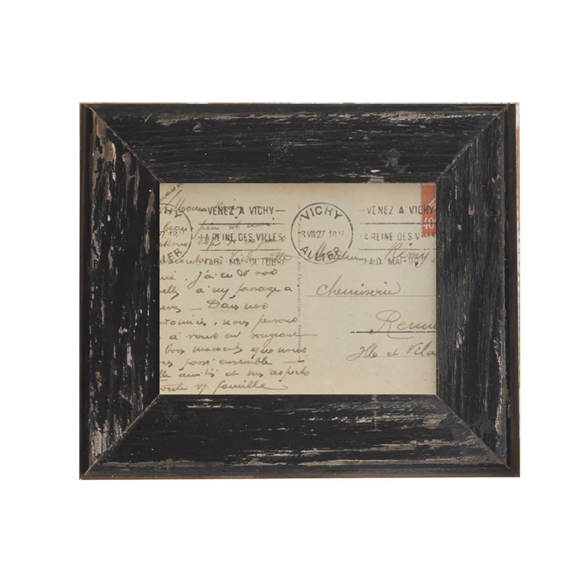 Dassie Artisan Rustic Mini Black Recycled Wooden Frame
