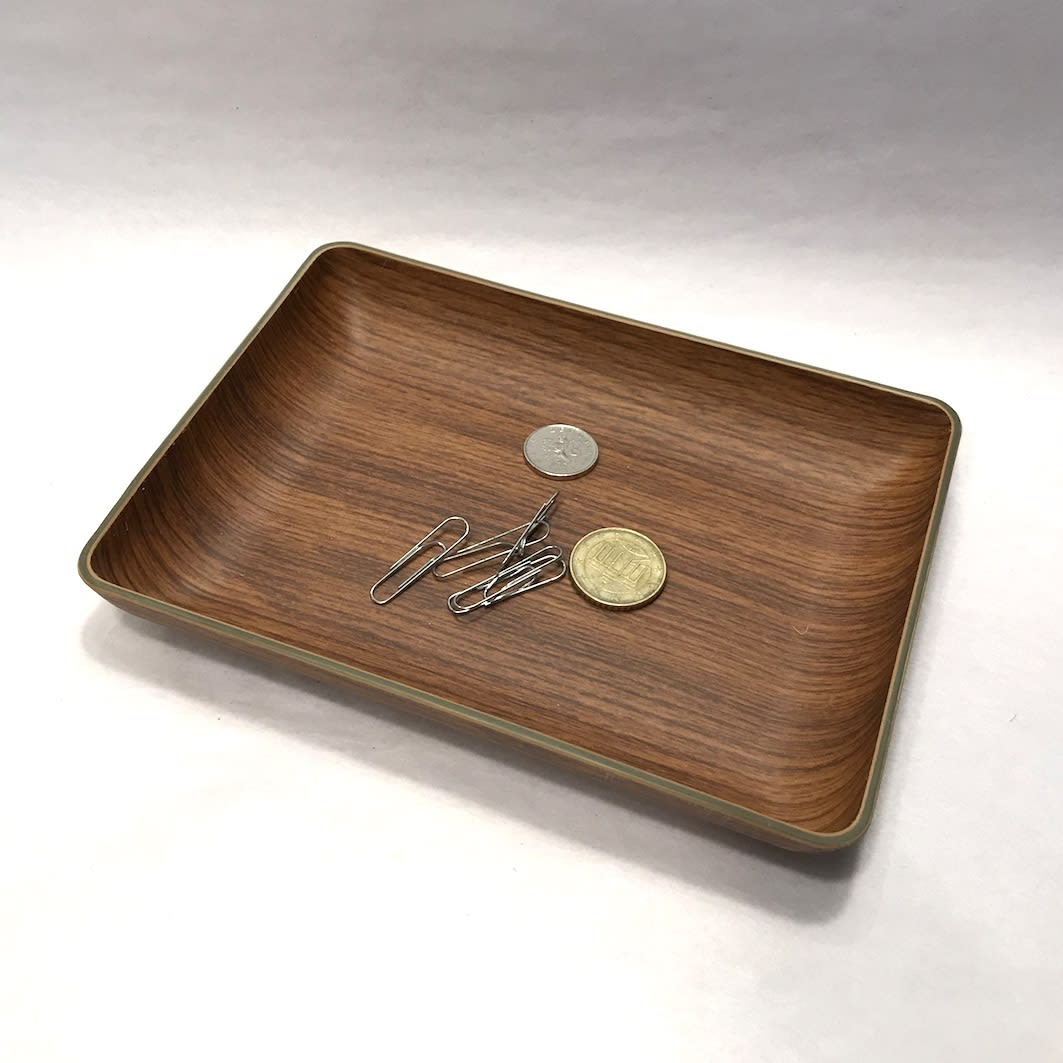 Jim Rockford Recycled wood effect dish