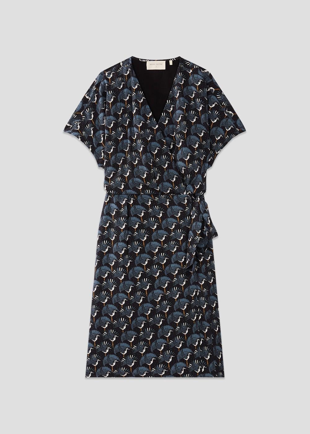 MARIE SIXTINE Heron Isa Wrap Dress