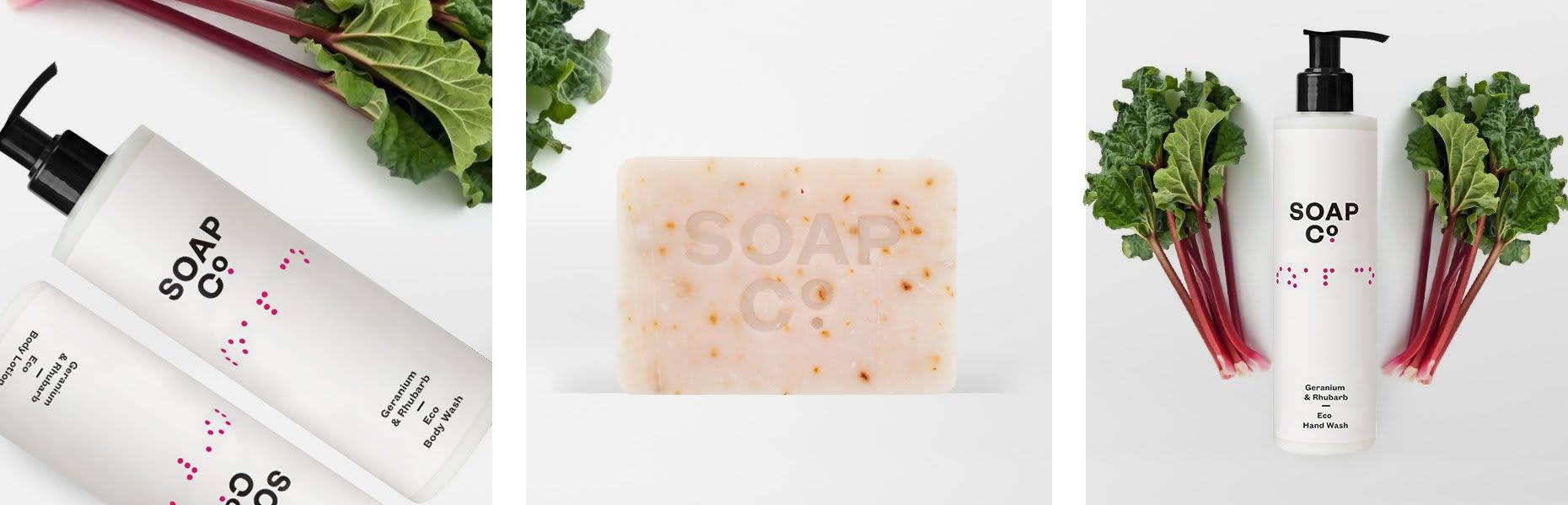 The Soap Co Geranium & Rhubarb Hand Wash