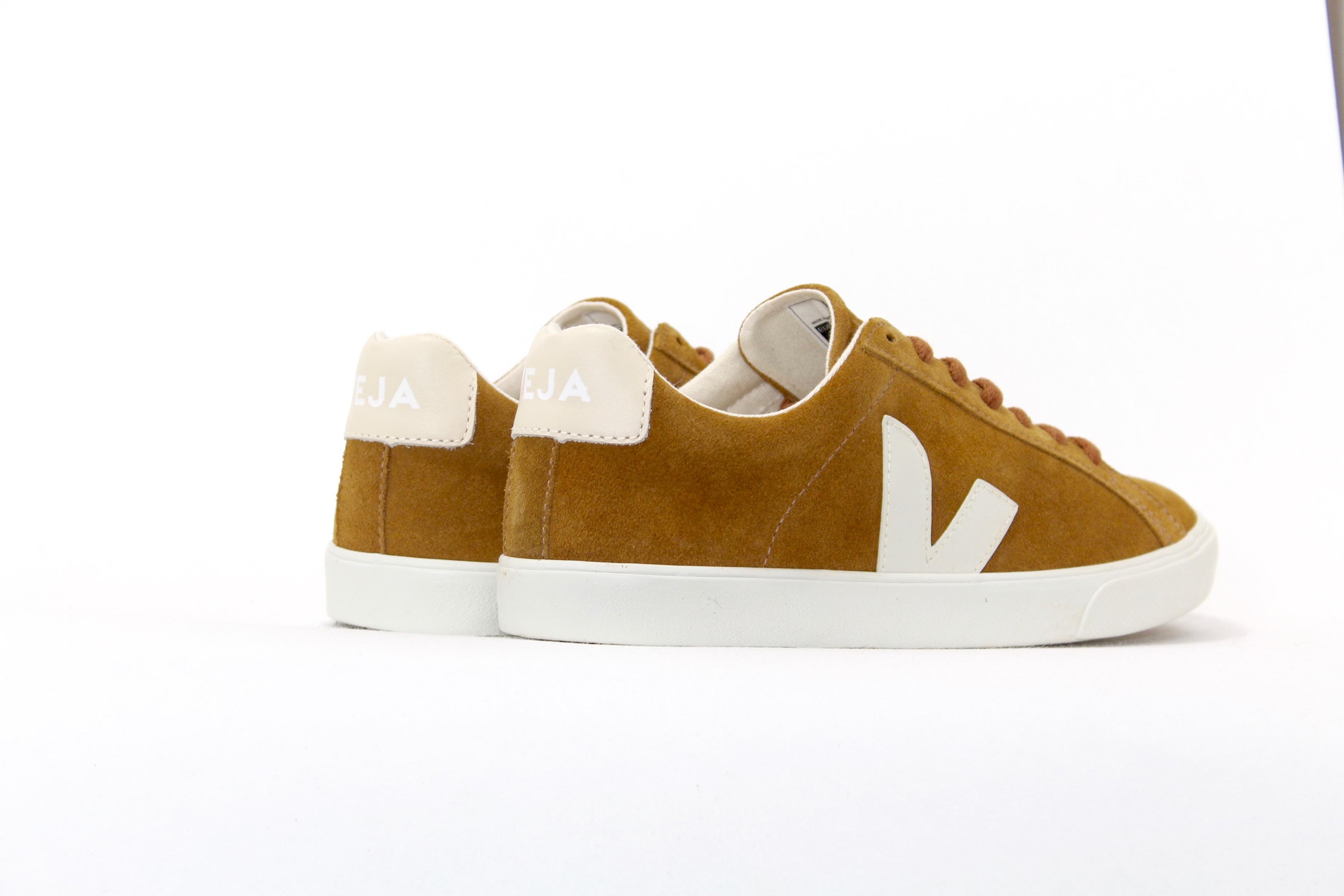 Veja Camel Velour Esplar Womens Sneaker