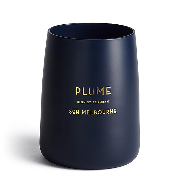 SOH Melbourne Navy  Plume Scented Candle