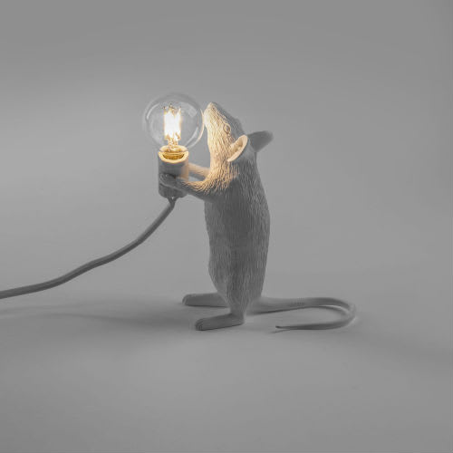 Seletti Standing Mouse Lamp