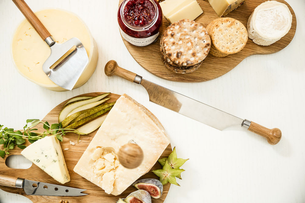 Sagaform Oak Handled Cheese Plane Slicer