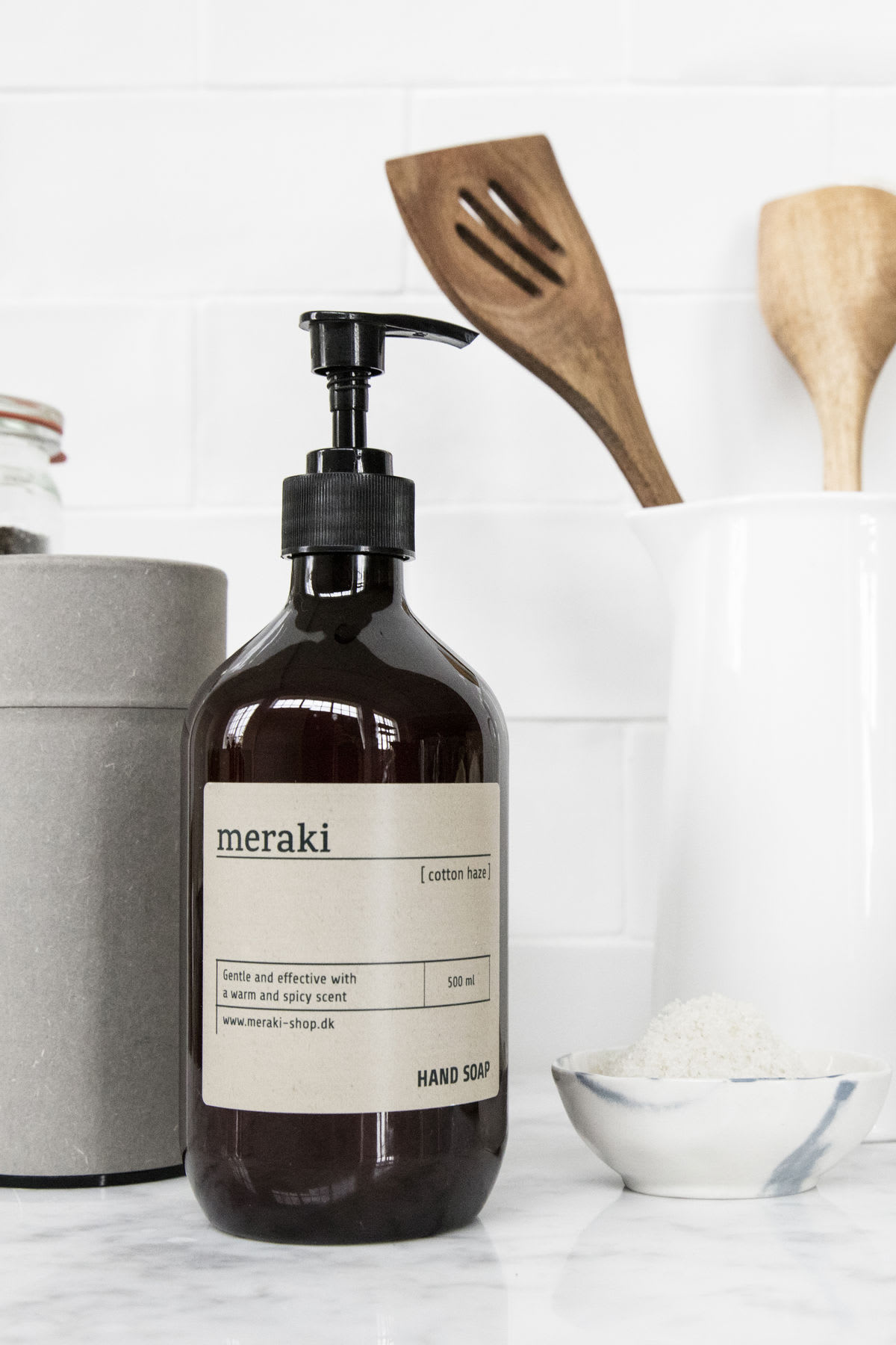 Meraki Hand Soap in Cotton Haze