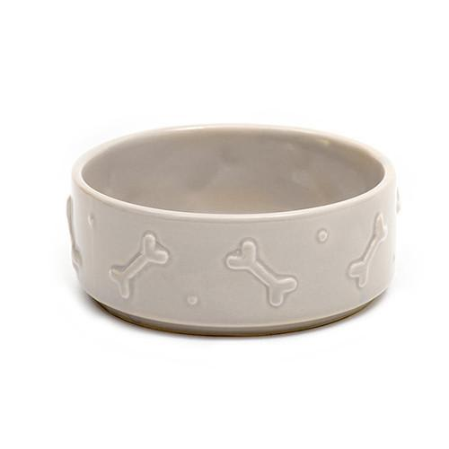 Mutts and Hounds Small Ceramic Dog Bowl
