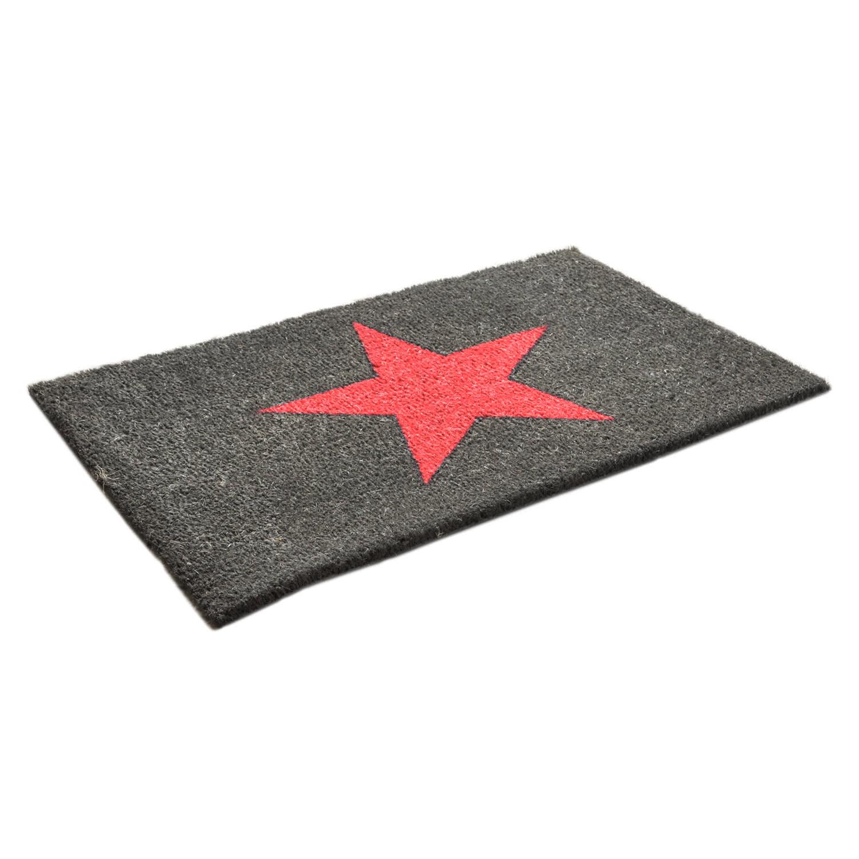 Hot Pink Star Doormat