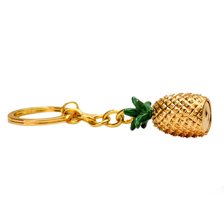 Tropical Pineapple Keyring