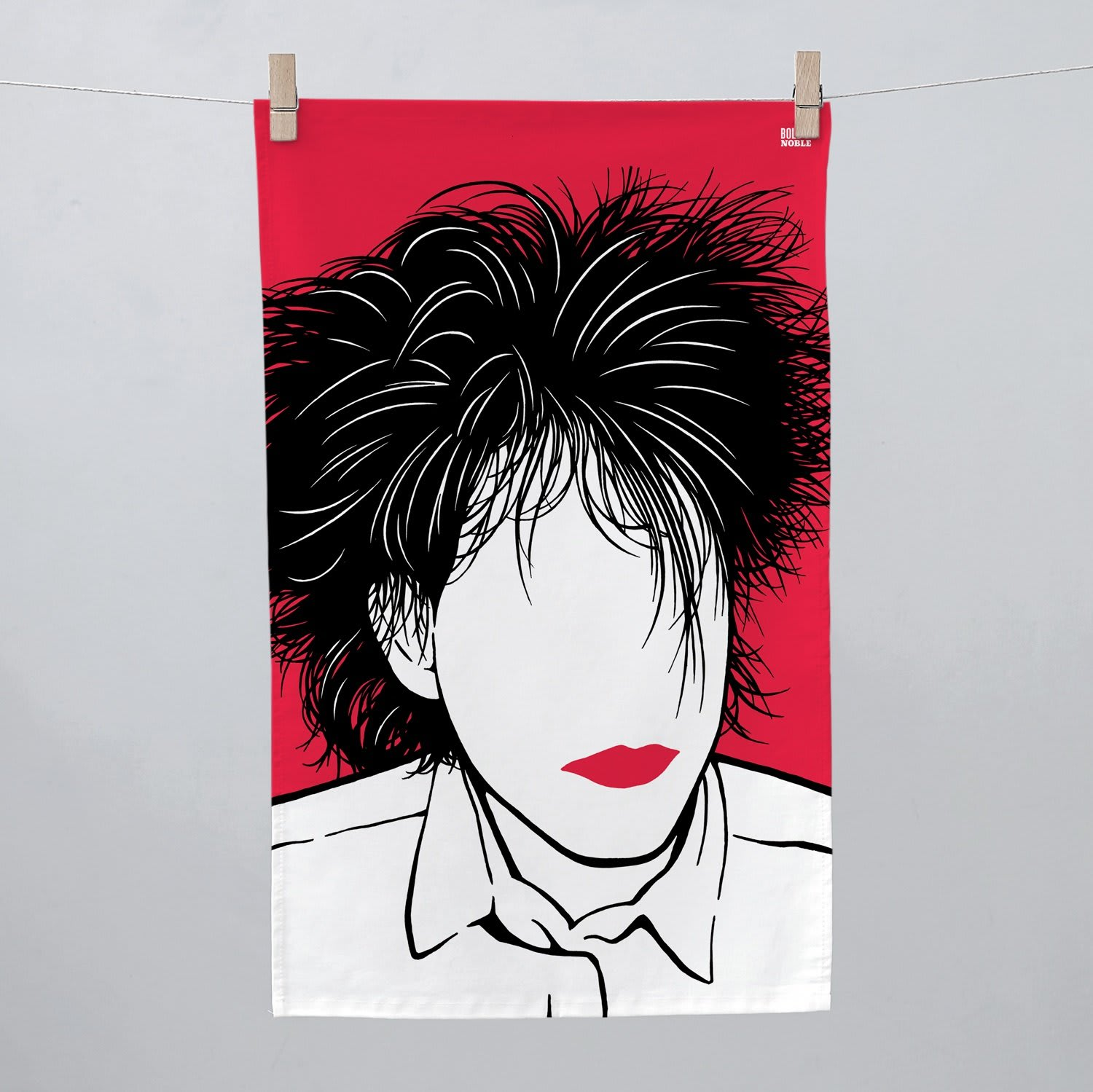 Bold & Noble  Robert Smith Tea Towel