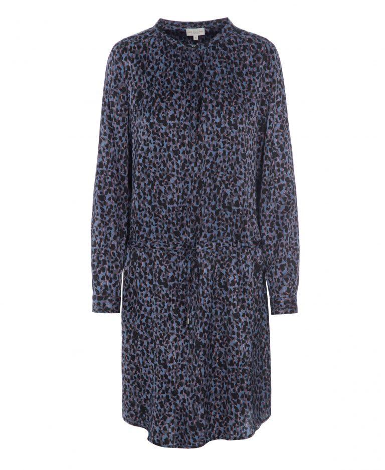 Dea Kudibal Leopard Blue Kendra Dress
