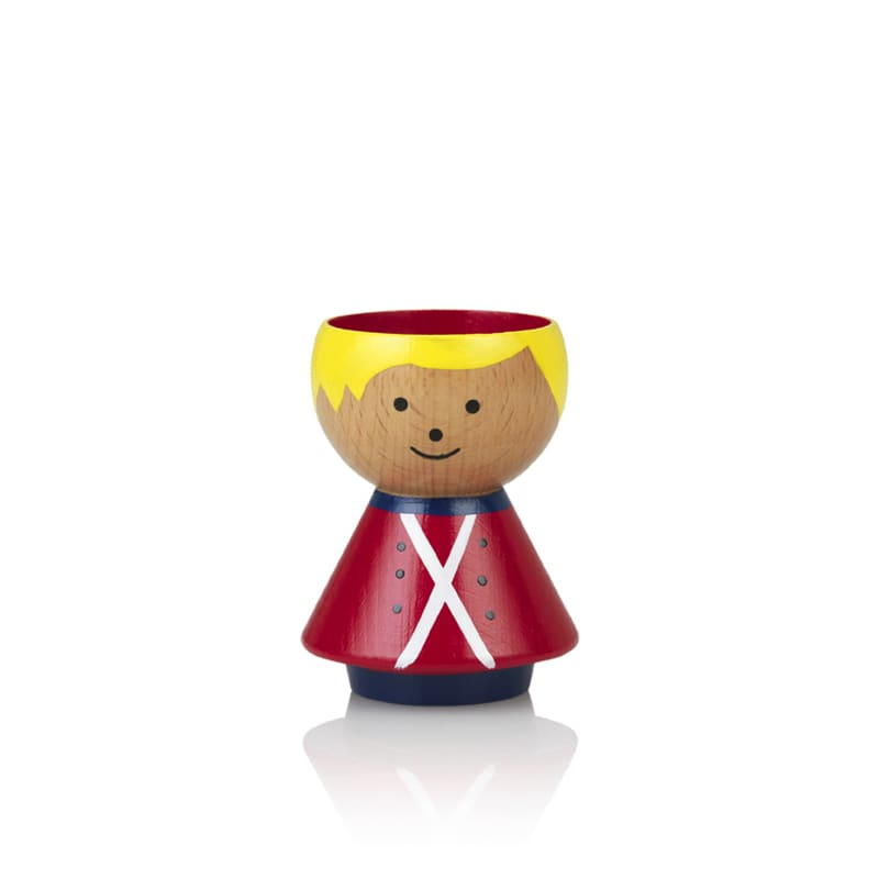 Lucie Kaas Red Guard Boy Egg Cup