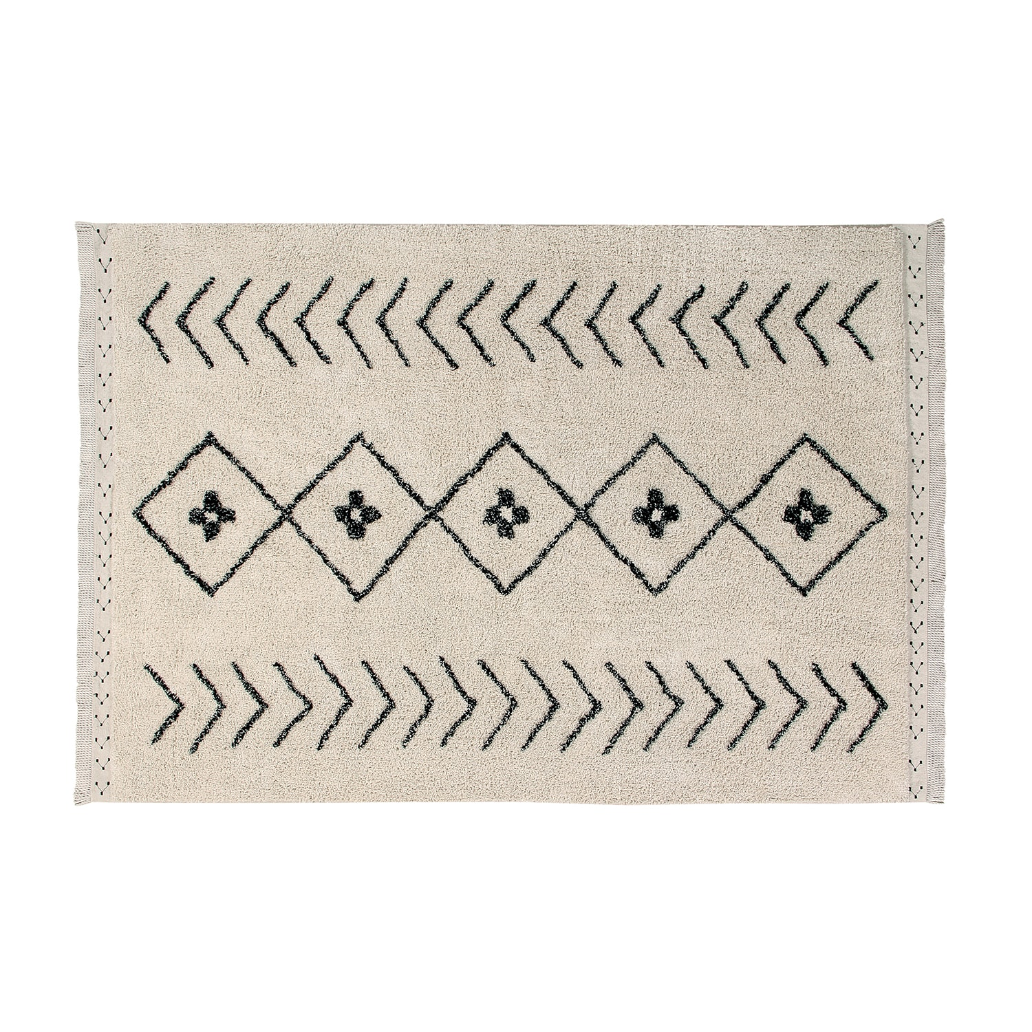 Lorena Canals Large Rhombs Washable Carpet