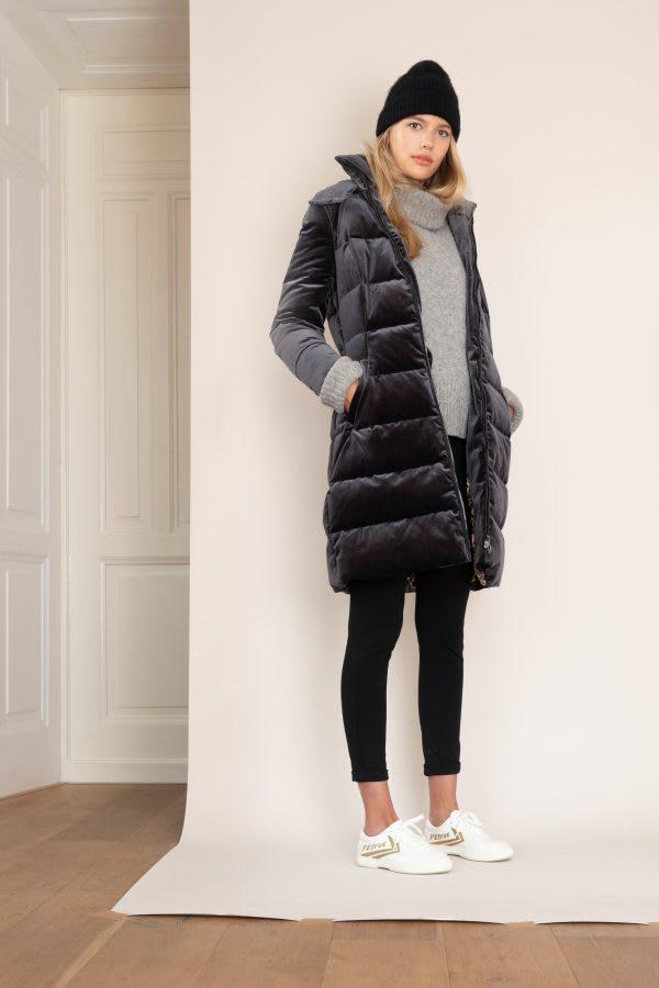 Spoom Grey Ashaya Down Coat