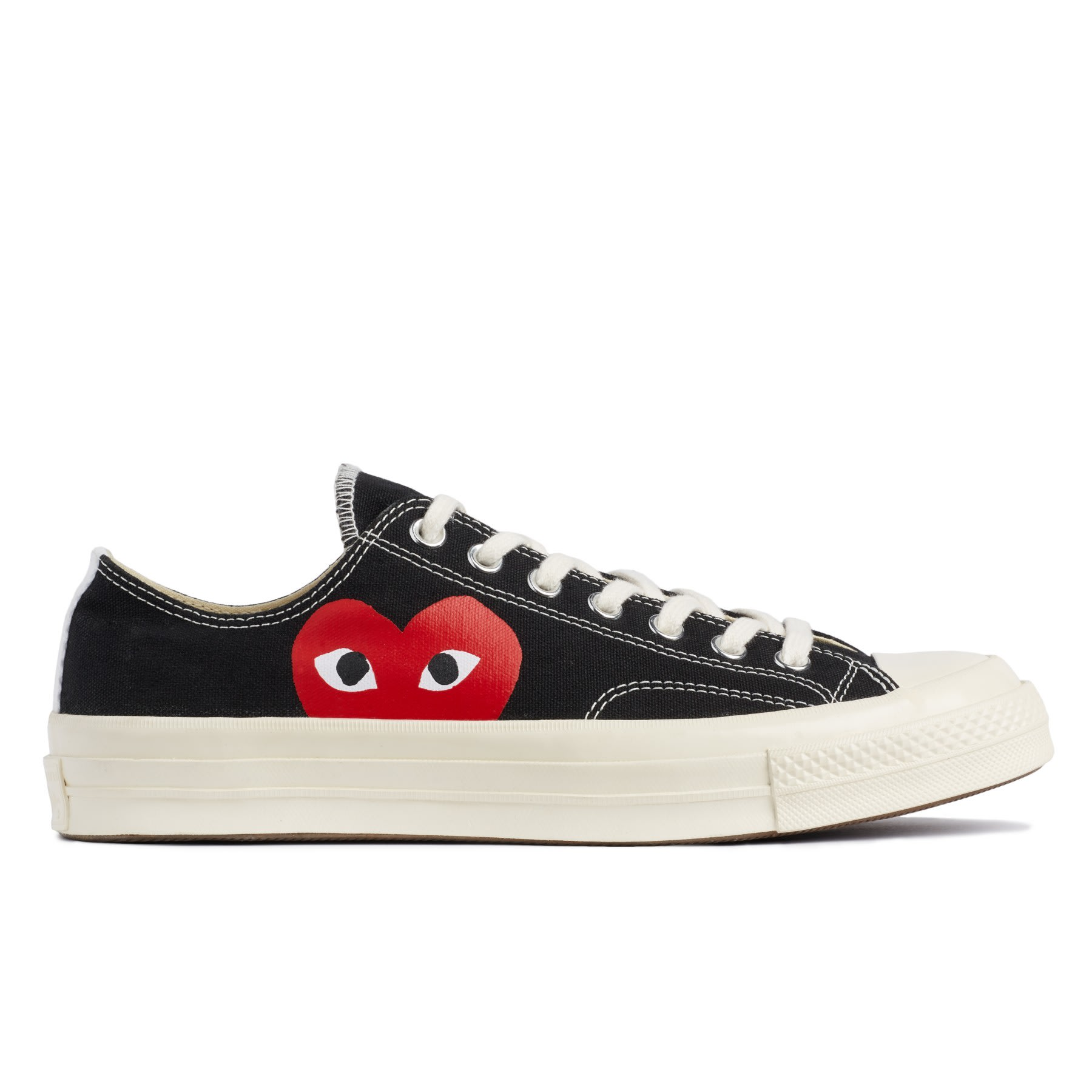 Comme Des Garcons Play Black PLAY X Converse 70s Chuck Taylor All Star Low Shoe