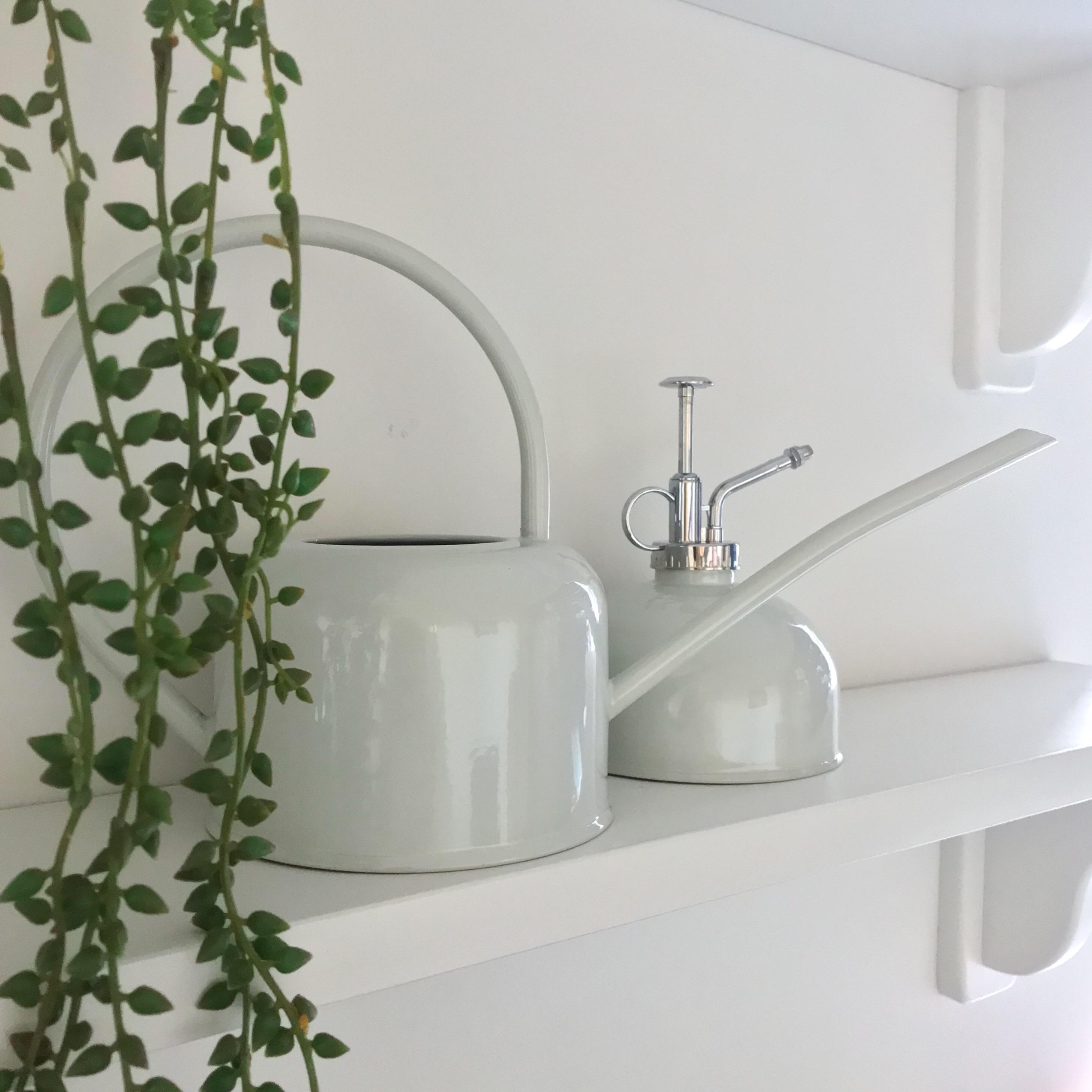 Wikholm 1L Grey Indoor Watering Can