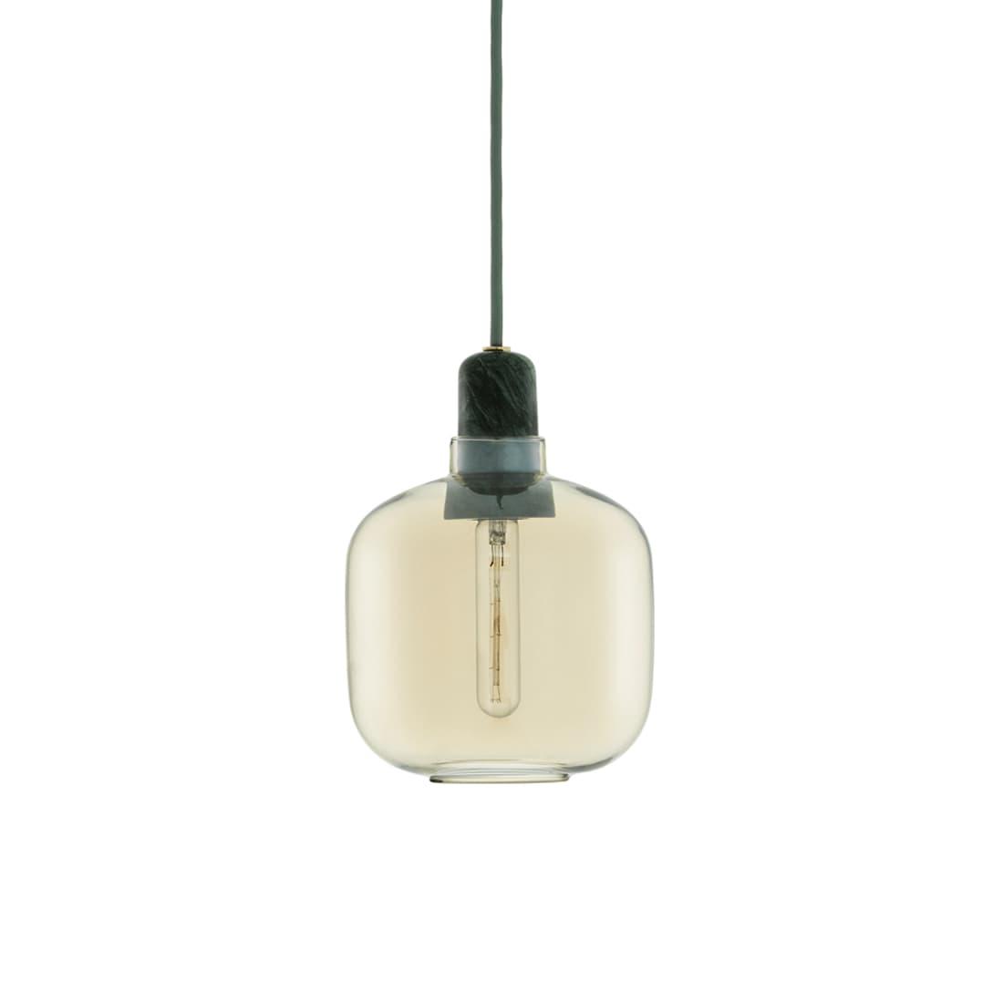 Normann Copenhagen Amp Lamp - Small Gold/Green