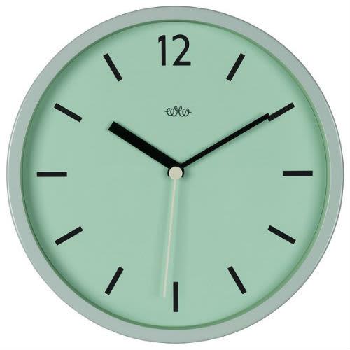 Wild Wood Clock in Swedish Green