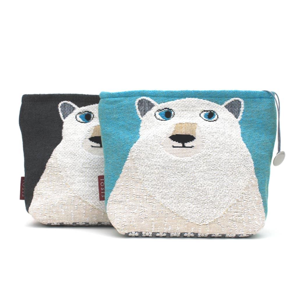 Iosis Polar Bear Wash Bag