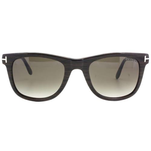 ea5d9510e2b9 Trouva  Leo Wood Grain Sunglasses