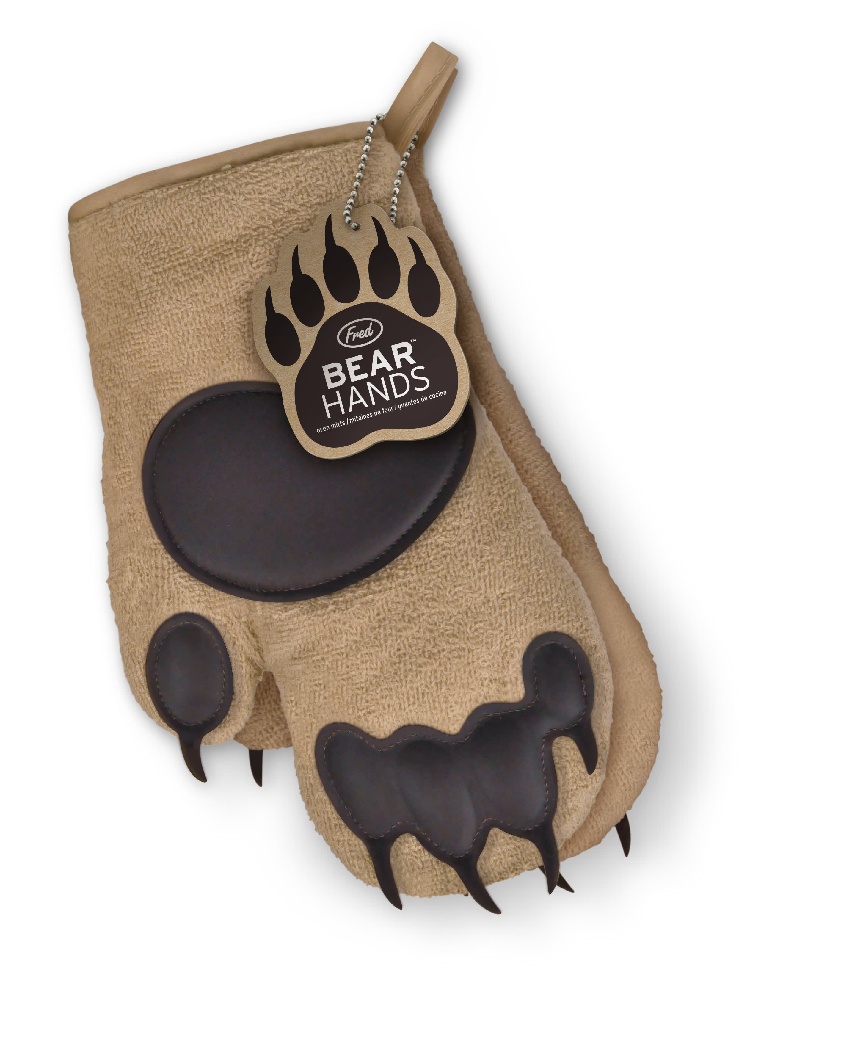Fred Bear Paw Oven Gloves (Pair)