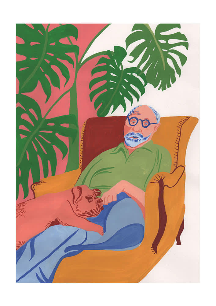 East End Prints  Matisse At Home A1 Unframed Print