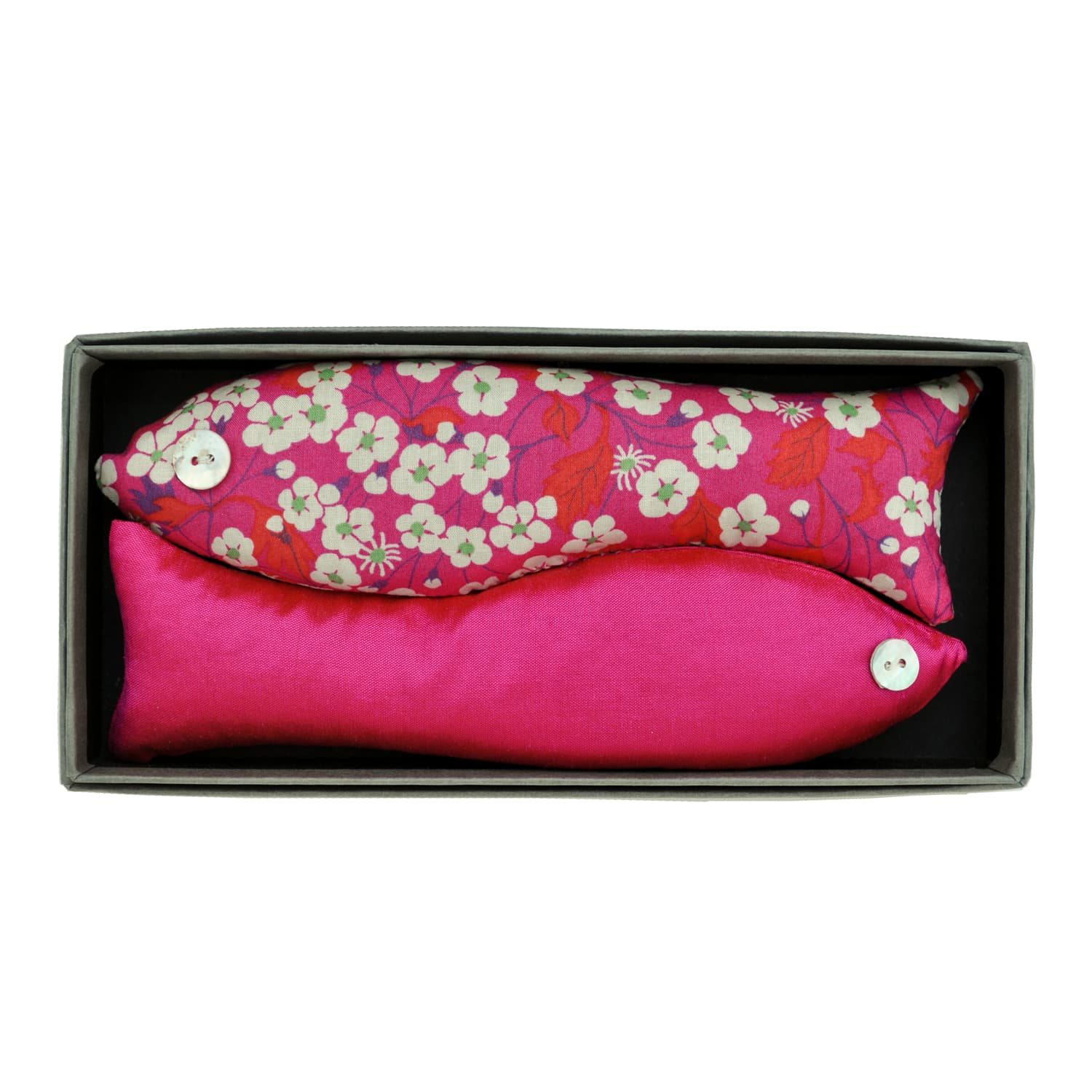 Hot Pink Box of Two Lavender Fish Drawer Fragrance