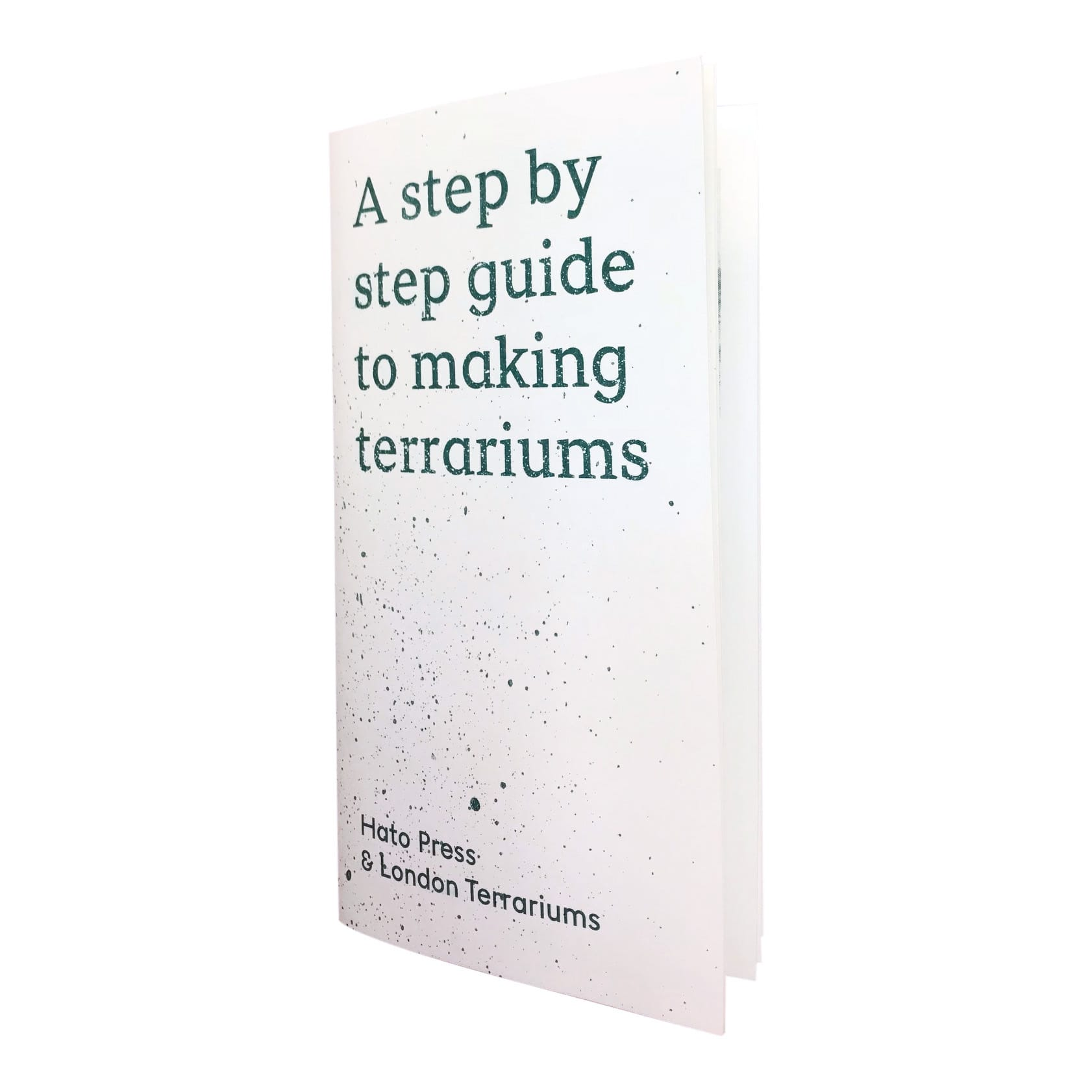Hato Press Step by Step Guide to Making Terrariums Book