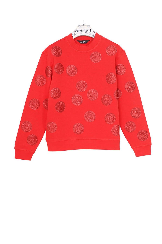 starstyling Red Balls Festive Sweater